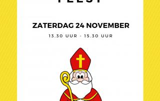 Sinterklaasfeest uitnodiging