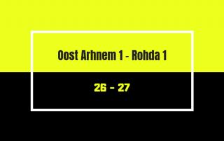 Oost Arhnem 1 - Rohda 1