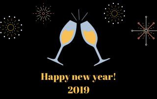 Gelukkig nieuwjaar!2019