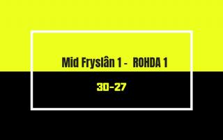 Mid Fryslan 1 - Rohda 1